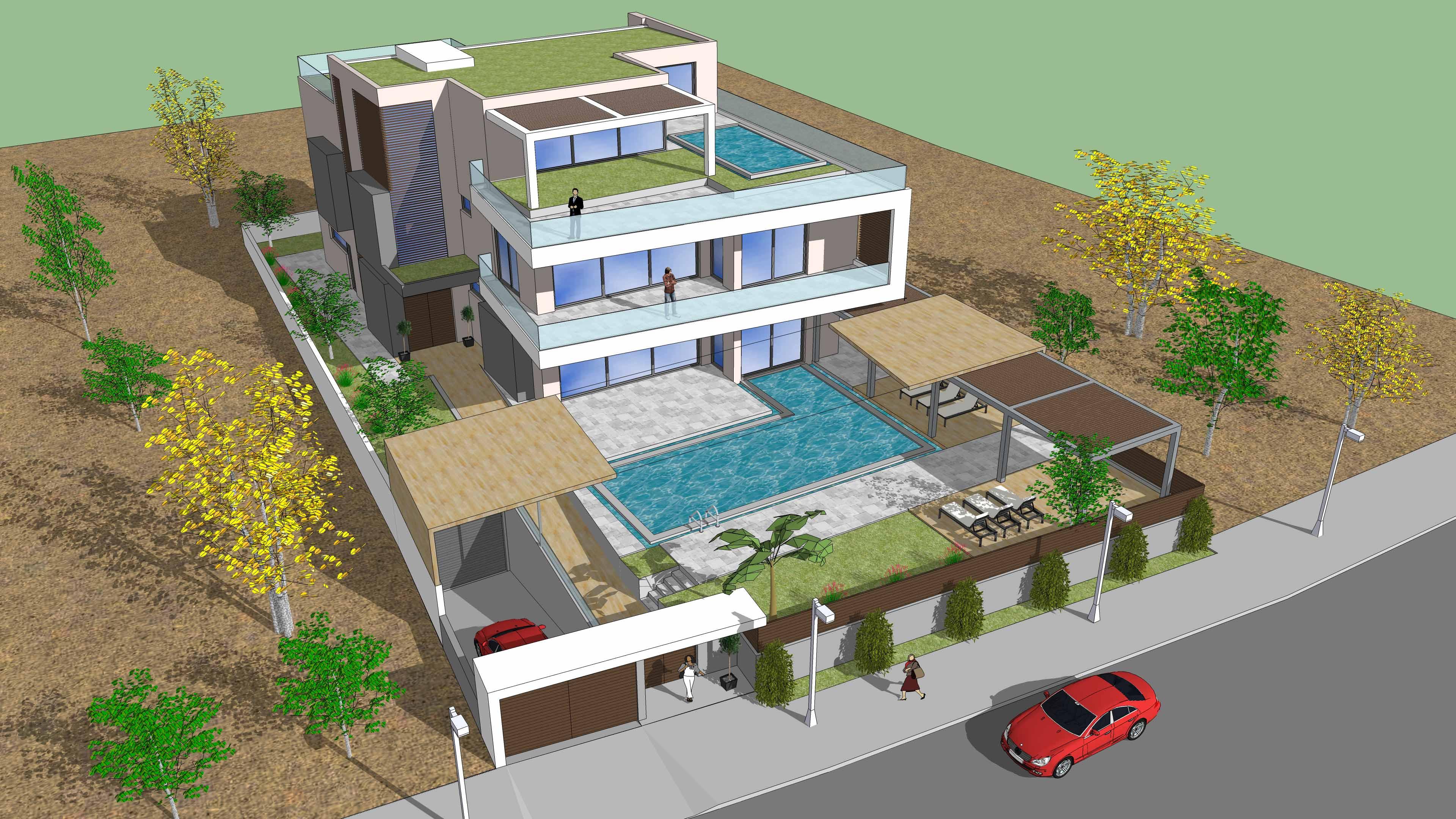 Beach Front Villa in Saronida
