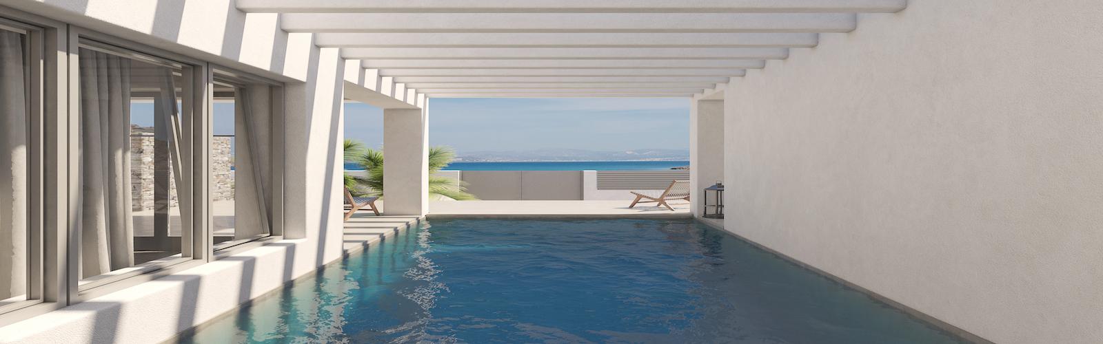 Beach Front Villa for Sale Paros